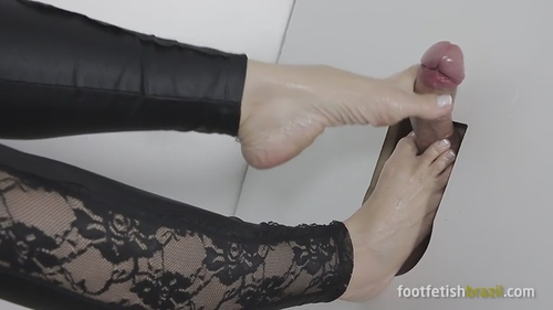Glory Hole Foot Job